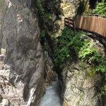 Photo of Stanghe Waterfalls at Gilfenklamm Gorge