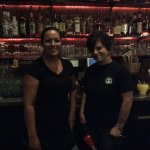 Our bartender and her lass in training
