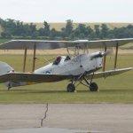 Tiger Moth Flight At Duxford