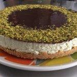 Cheesecake pistacchio e cioccolato una vera delizia!