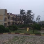 Hotel compound from sea side
