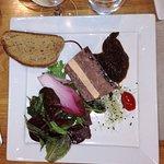 Pressé de canard au foie gras