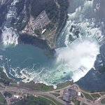 Helicopter Round of Niagara Falls