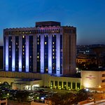 Crowne Plaza Amman Exterior (Night)
