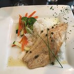 Special - Bass with jasmine rice and veggies