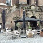 terrace is of the Spanish tapas restaurant La Bodega