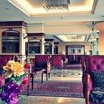 The Lobby of Friendly Riviera Hotel