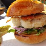 Fish Cake Burger