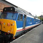 Class 50 50 026 Indomitable a visiting diesel locomotive proving driver experience days