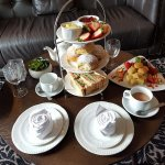 High Tea for 2 in lounge