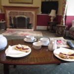 Lounge - Cream tea on arrival - lovely.