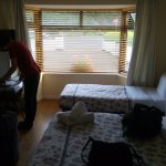 White Lodge Trim Foto