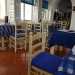 Table area inside Miss Pasta