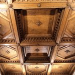wooden ceiling in Palazzo Vecchio Florence