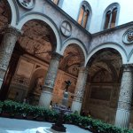 inner courtyard in Palazzo Vecchio Florence