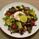 Salade de truite d Ondenval