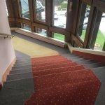 Gestückelter Teppich und absolut unhygienisch !!!