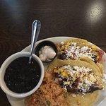 Yummy fresh tacos.