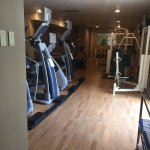 Fitness area - updated equipment, mirrors, area for yoga