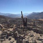 Old city of pre-Inca natives