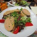 salade Cirq Lapopie