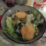 Salade Rocamadour panés