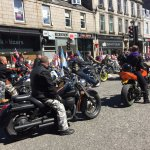 Air Force Day Parade on Union Street Aberdeen