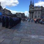 Air Force Day Castle Gate Aberdeen