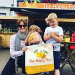 Family lunch at The Happy Pear
