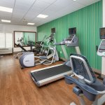 Fitness Room - Precor Equipment with Personal TVs