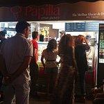 Papilla Ice cream Shop in Juan Le Pins
