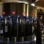 Self serve wines machine