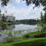 Nice walking/bike trail around the lake behind the hotel.