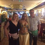 Professional belly dancing! ...with not so professional copy cats - thanks for letting us have a