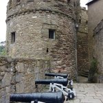 Cannons at the castle
