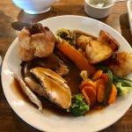 Three Meat Roast Dinner