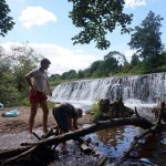 Warleigh Weir is a great place to spend a few hours with good weather. Build dams or swim!