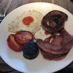 The breakfast which I had to pay £9 for