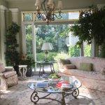 Back garden. Garden sitting room