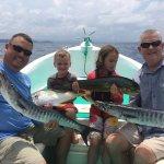 Family Fun of Fishing in Papagayo Gulf