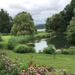 A view of the Hudson River from the grounds of the inn.