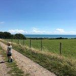Walk to Lodges - Stunning views