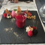Dessert savoureux