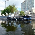 Tour boat on the Canal