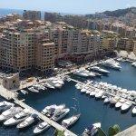Gorgeous view from Monaco City!