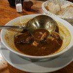 Exquisita sopa de pescado