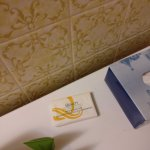 This place is so good other hotels advertise here with their old soaps!