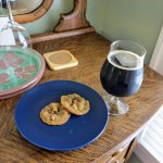 cookies with coffee stout