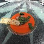 Cadre idyllique pour découverte culinaire magique