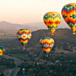 Hot Air Balloon Rides from V Marketplace, Napa Valley Aloft